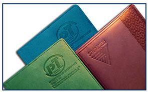 Нанесение логотипа на ежедневники и блокноты в Астра тлт